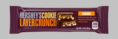 Hershey´s Cookie Layer Crunch Caramel 39 g