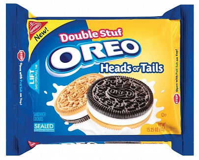 Oreo Head or Tails Double Stuf 432 g