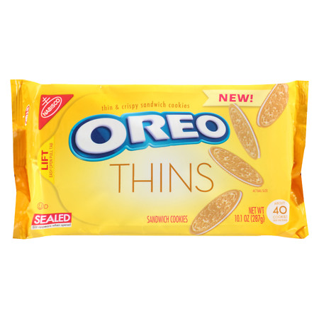 Oreo Thins Golden 287g