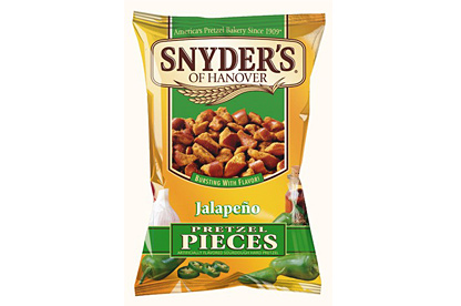 Snyder´s Jalapeňo pretzel pieces 56g