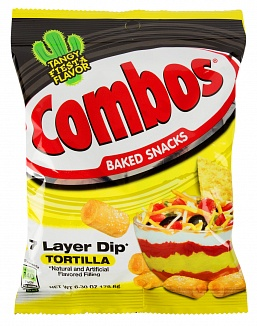 Combos 7 Layer Dip Trortilla 178,6 g