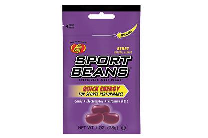 Jelly Belly Raspberry Energizing Sport Beans 28 g