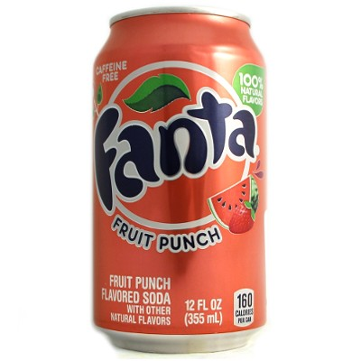 Fanta Fruit punch plech.355ml