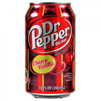 Dr.Pepper Cherry Vanilla plech.355ml