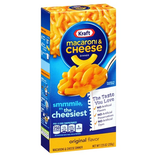 Macaroni & Cheese Kraft 206g