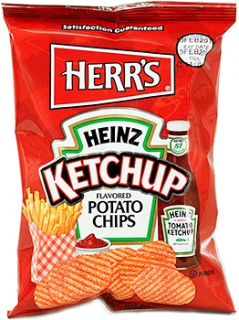 Herr´s Ketchup Potato Chips 99,2g