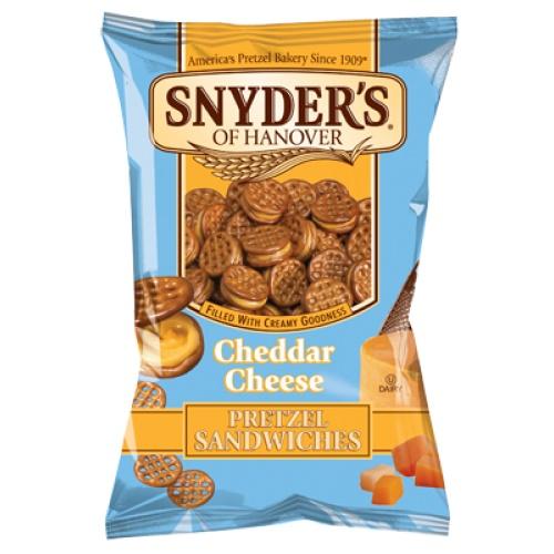 Snyder´s Pretzel Sandwiches Cheddar Cheese 60,2g
