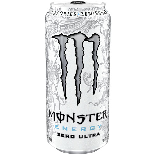 Monster Zero Ultra White 473 ml