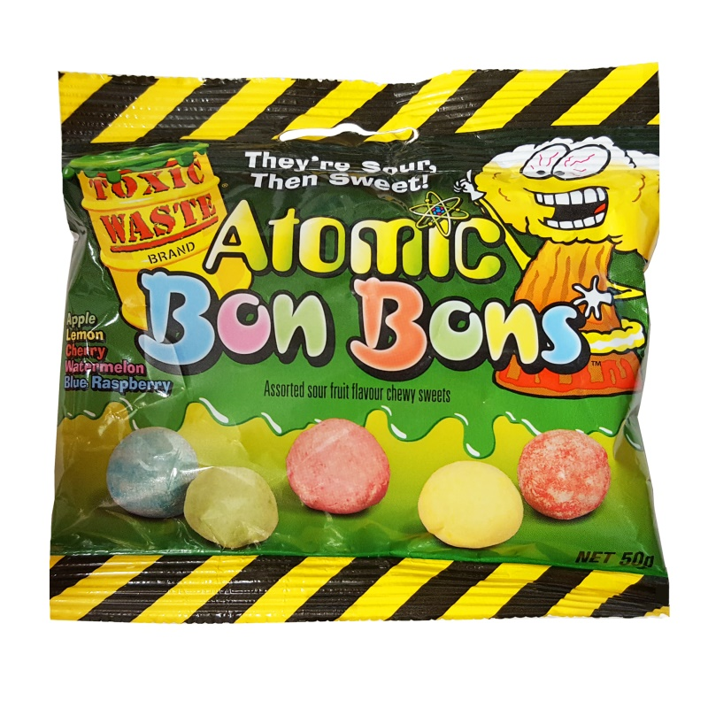 Toxic Waste Atomic Bon Bons 50 g