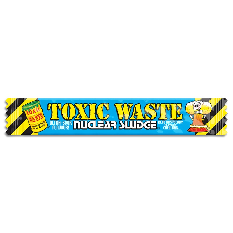 Toxic Waste Nuclear Sludge Chew Bar Blue Raspberry 20 g