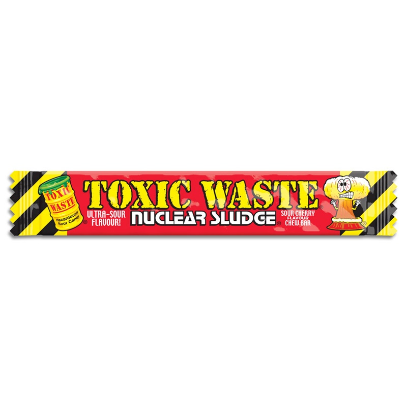 Toxic Waste Nuclear Sludge Chew Bar Cherry 20 g