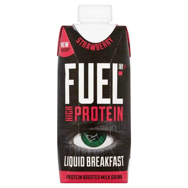 FUEL10K Strawberry Protein Milk Drink 330ml
