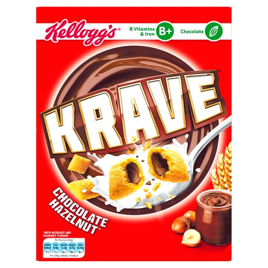 Kellogg's Krave Chocolate Hazelnut 375g