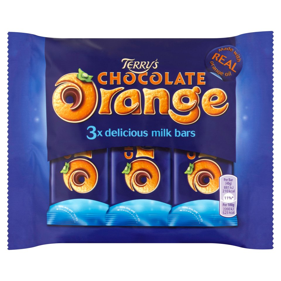 Terry's Chocolate Orange Milk 3 Pack
