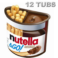Nutella Ferrero & Go! Hazelnut Spread with Cocoa and Breadsticks 48g