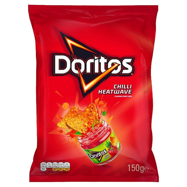 Doritos Chilli Heatwave Tortilla Chips 150g