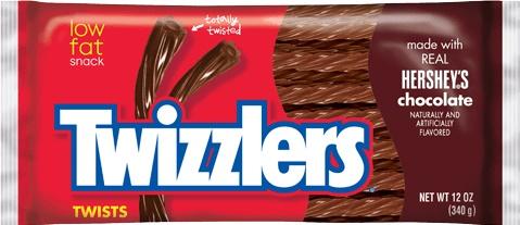 Twizzlers Choco twists 340g