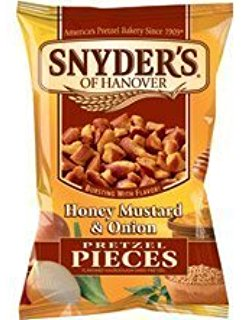 Synders Honey Mustard & Onion Pretzel Pieces 63,8 g