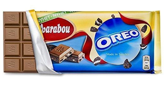 Marabou Milk Chocolate with OREO 185 g
