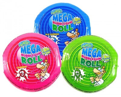 Mega Bubblegum Roll 58g