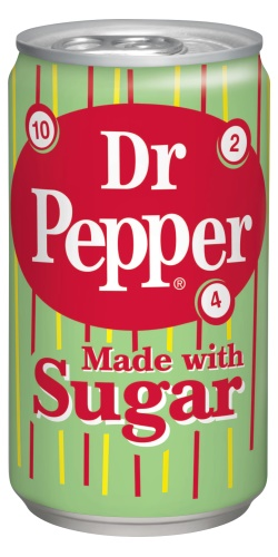 Dr.Pepper whit real sugar plech.355ml