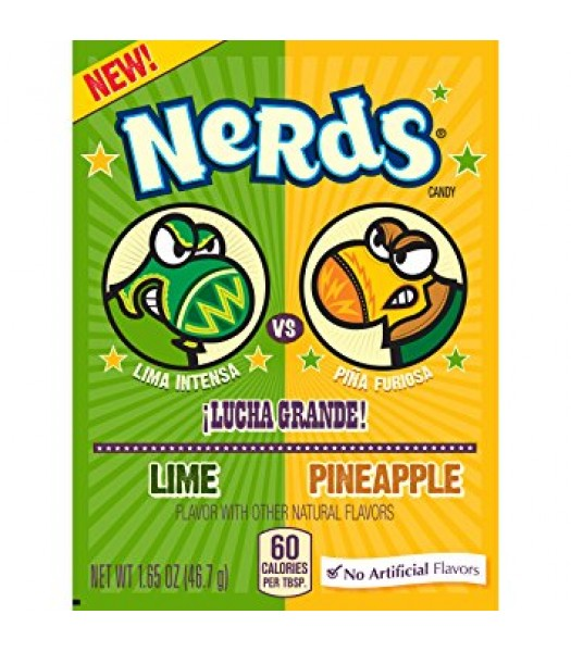 Wonka Nerds Lime&Pineapple 46,7g