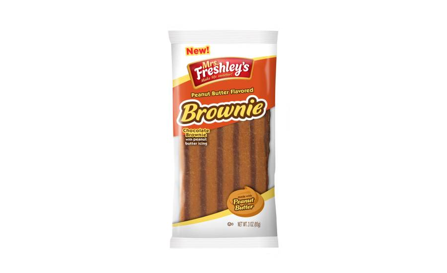 Mrs. Freshley´s Swiss Rolls Peanut Butter 79g