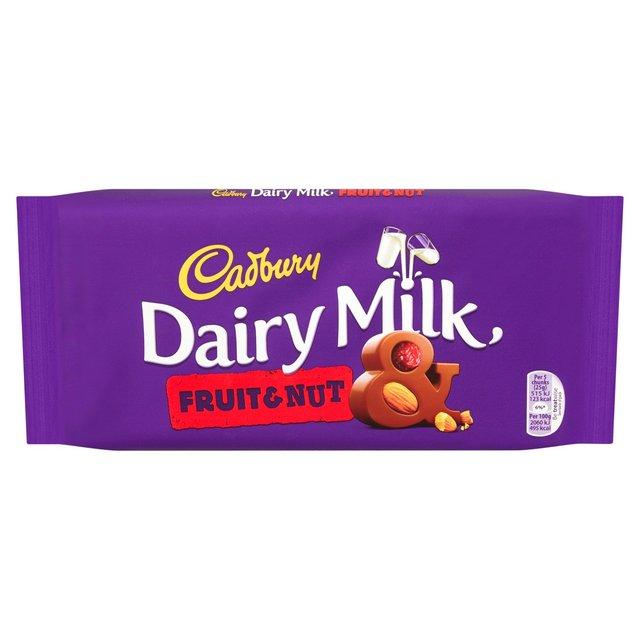 Cadbury dairy milk Fruit&Nut 95g