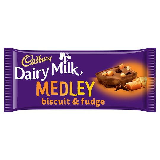 CADBURY CARAMEL FUDGE 93G