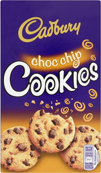 Cadbury choc chip cookie 150g