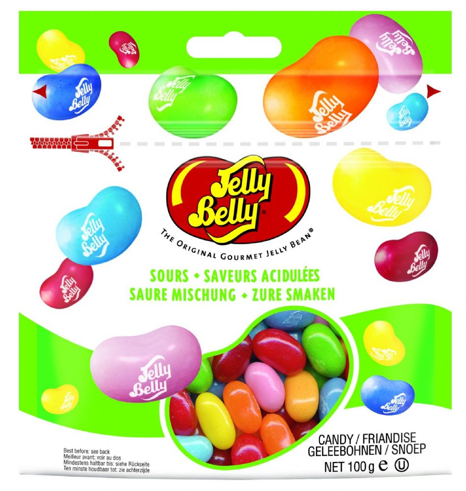 Jelly Belly Sours mix 100g