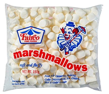 Fairco Marshmallows Mini Marshmallows, White 150g