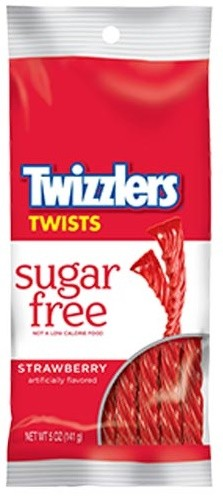 Twizzlers Sugar Free Strawberry 141g