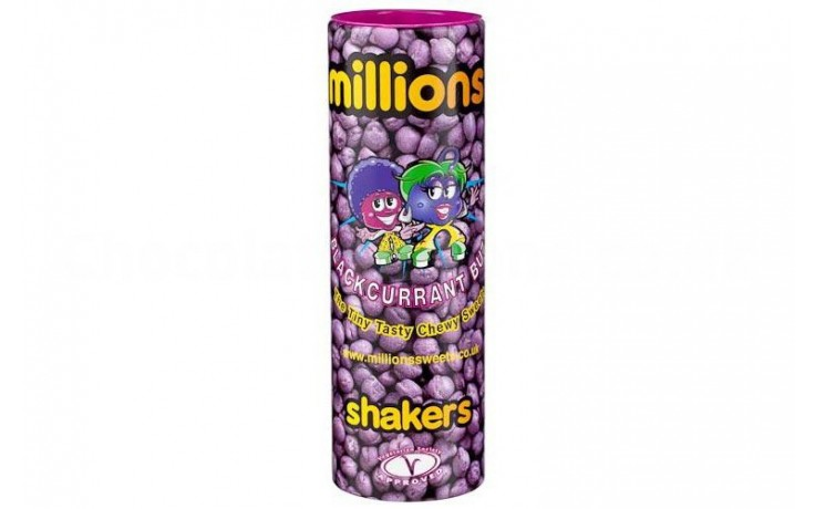 Millions Blackcurrant Shakers 90g