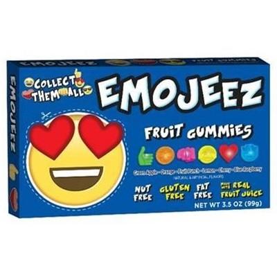 EMOJEEZ HEART EYES FRUIT GUMMIES 99g