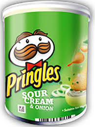 Pringles Sour cream Grab & Go 71g