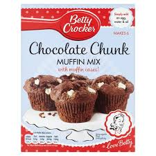 BETTY C MUFFIN MIX CHOC CHUNK 335G
