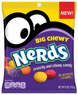 Big Chewy nerds 170g