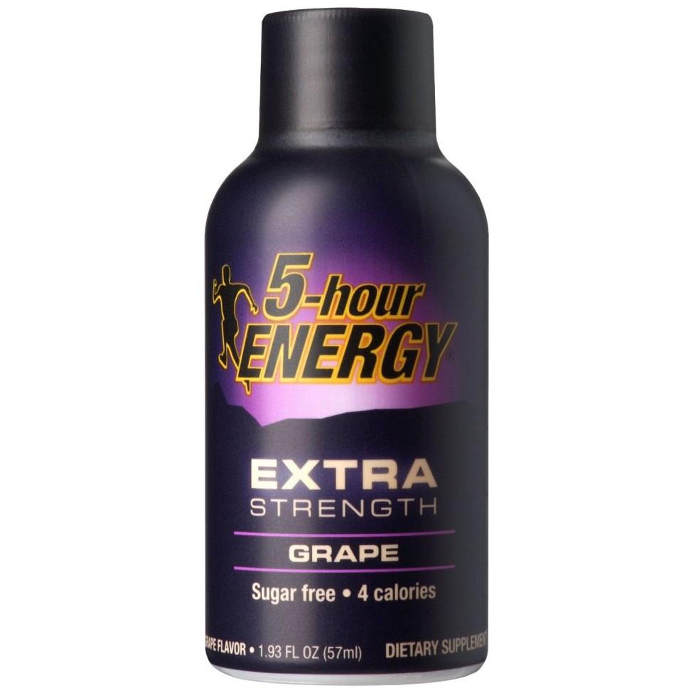 5-hour energy extra strenght grape 57ml