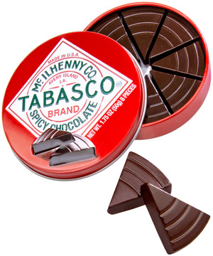 Tabasco spicy chocolate 50g