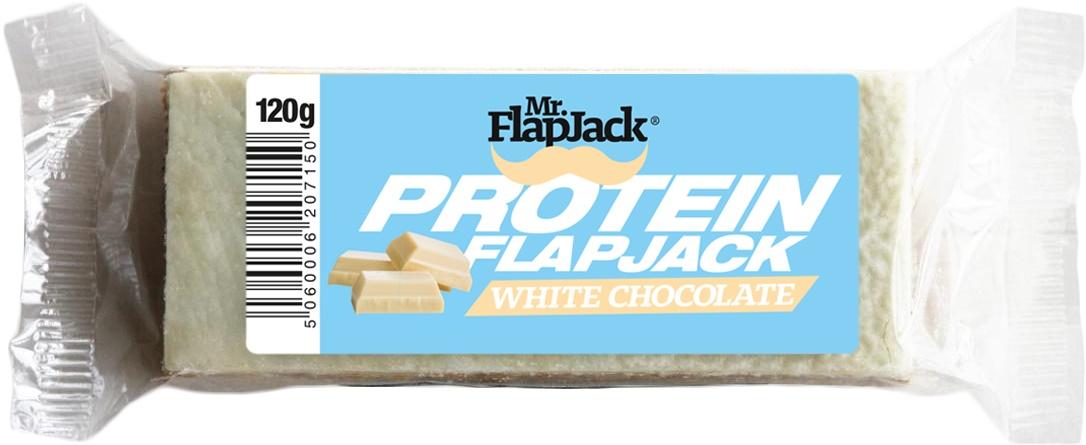 Mr. FlapJack PROTEIN FLAPJACK Biela čokoláda