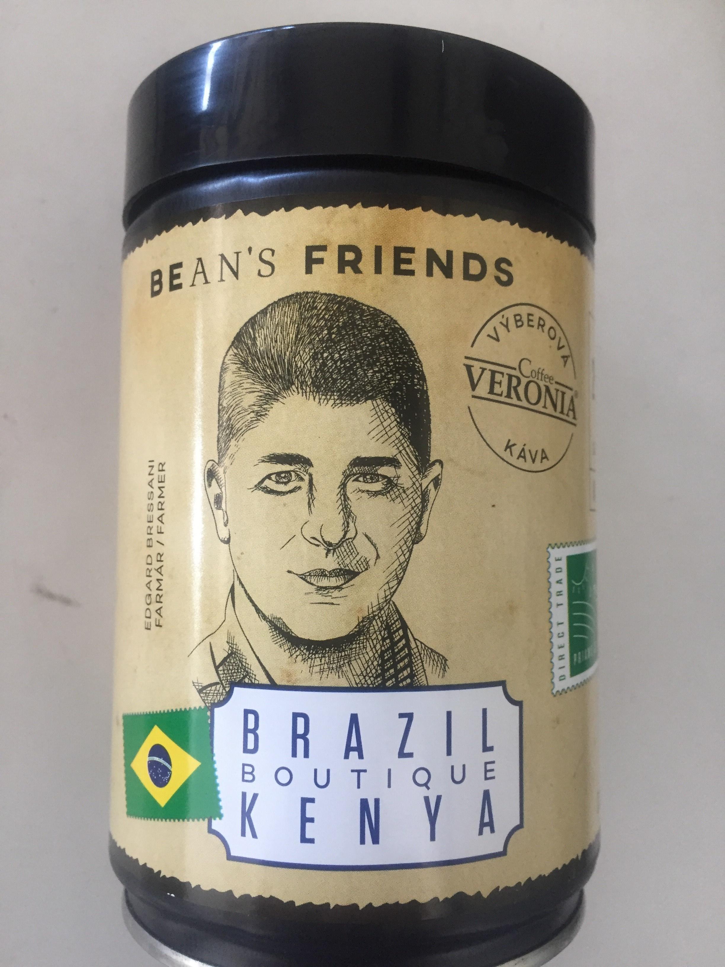 Káva Brazil Boutique Kenya 250g