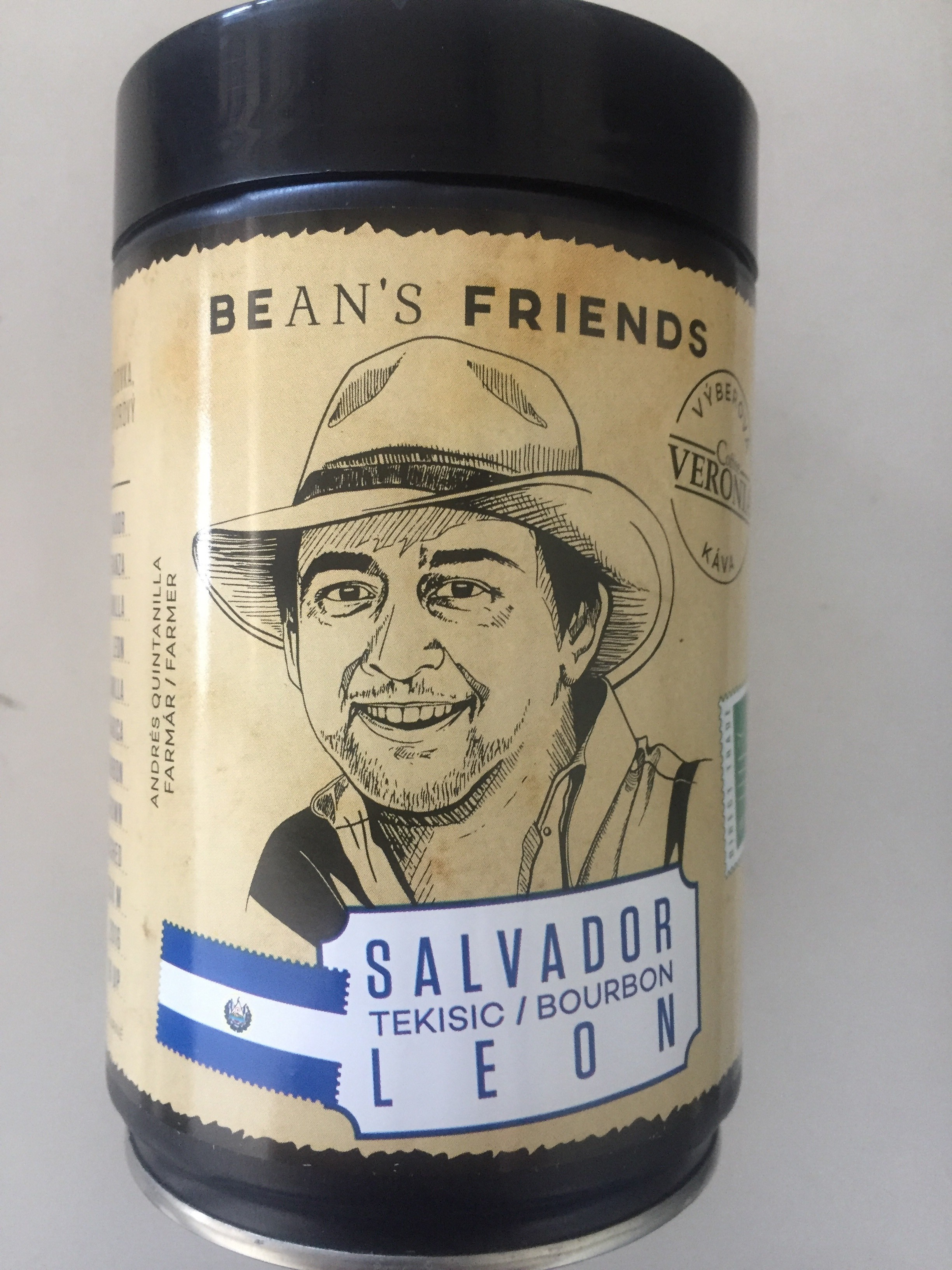Káva Salvador Bourbon Leon 250g