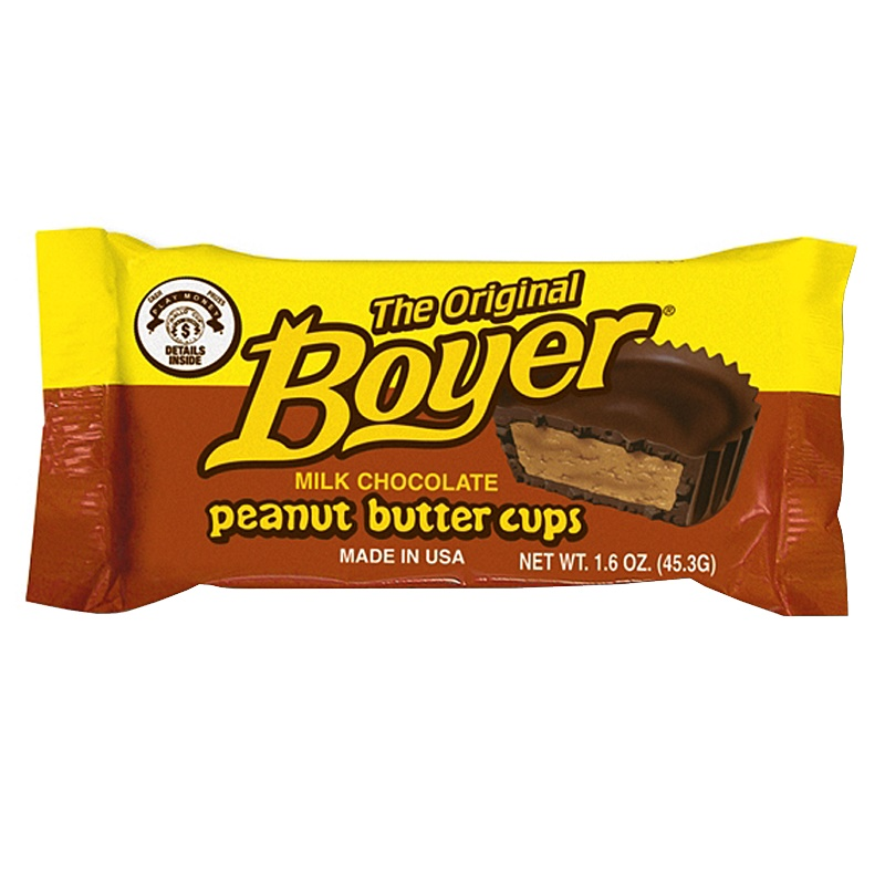 Boyer Peanut butter cups 45,3g