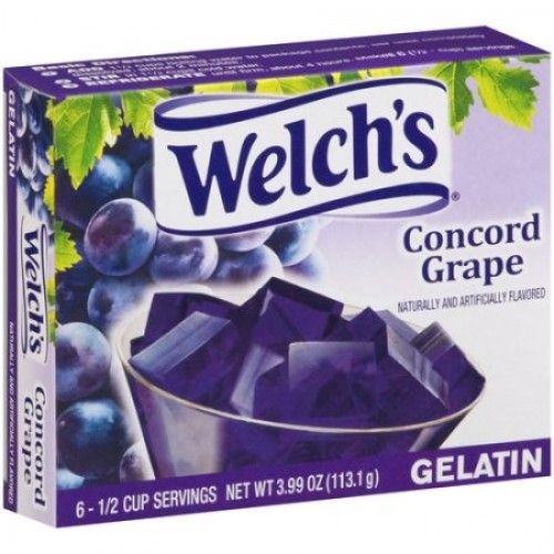 Welch´s grape gelatin 113,1g