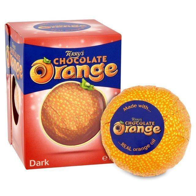 Terry´s dark chocolate orange 157g