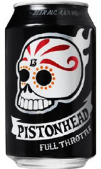 PISTONHEAD SWEDISH LAGER 330ML