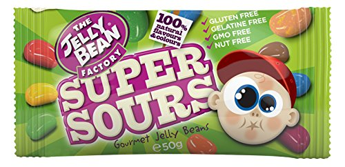 JELLY BEAN FACTORY SUPER SOUR BAG 50G