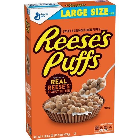 Reeses Puffs peanut butter 473g